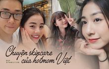 Cùng hóng bí kíp chăm da đẹp như gái Hàn của loạt hot mom Việt đình đám