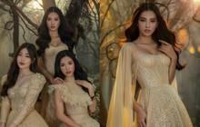 Top 3 Hoa hậu Việt Nam diện váy cưới đọ sắc nhưng khuôn ngực căng đầy ở tuổi 19 của Tiểu Vy nổi bật hơn cả