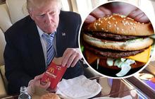 Hóa ra tổng thống Mỹ cũng như chúng ta, mê đồ ăn nhanh và thích mua hàng siêu thị