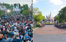 """Bất ngờ trước cảnh tượng """"vắng như chùa bà đanh"""" của công viên Disneyland nổi tiếng thế giới, nguyên nhân do đâu?"""