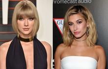 Drama không hồi kết: Vợ Justin Bieber bị netizen tố công khai đá xoáy Taylor Swift trên mạng xã hội, nhưng có gì đó sai sai?