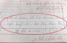 """""""Huýt sáo, tạo tiếng chim kêu"""" lúc cô giáo đang sửa bài, nam sinh nhận về lời phê phũ phàng, chừa cả đời"""