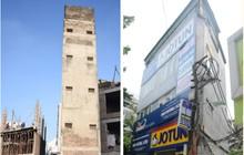 """Chùm ảnh: Cận cảnh những căn nhà hình dáng """"siêu dị"""" ở Hà Nội"""
