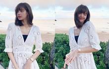 Vừa đặt chân đến Mỹ, Lisa liền bật ngay công tắc bánh bèo, diện váy trắng xinh điệu hết sức