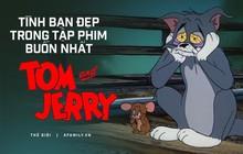 Suốt đời đuổi bắt nhau, đây là lần hiếm hoi Tom và Jerry đứng cùng chiến tuyến: Cùng bị người yêu bội phản, tuyệt vọng đến mức tự tử