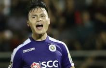 """Giữa ồn ào của bạn gái, Quang Hải """"nổ súng"""" giúp Hà Nội FC thắng dễ Sài Gòn FC"""