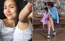 Nhóc tỳ nhà Hà Tăng với style đối lập: Con gái có tủ đồ toàn hồng, con trai chỉ diện đồ đen trắng