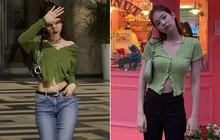 Cùng 1 lối diện áo lửng hờ hững, Ngọc Trinh và Jennie tạo nên cuộc so kè vóc dáng khó phân định