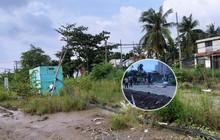 """Vụ 2 cháu bé bị điện giật chết ở Sài Gòn: """"Công trình thi công cả năm nhưng không có rào chắn, để rồi xảy ra sự việc thương tâm quá"""""""