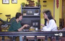 Quán trà mà chị Huệ và Dương (Về nhà đi con) ngồi tâm tình: có thật là bánh khô như lời Dương nói?