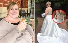 Cô dâu người Anh cố tình mua váy cưới nhỏ hơn 3 size, hé lộ bí quyết giảm được 25kg trong 6 tháng