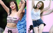 """2 lần dự Waterbomb của Hyuna: Đều ăn vận sexy nhưng lần 1 được khen; lần 2 bị chê """"rẻ tiền"""" phản cảm"""