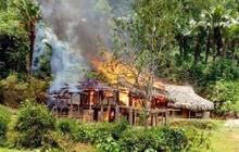 Chập điện gây cháy nhà, một hộ nghèo ở Yên Bái mất toàn bộ tài sản