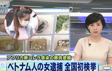 Mang 360 quả trứng vịt lộn và 10kg nem chua đến Nhật Bản, nữ du học sinh Việt Nam bị bắt giữ