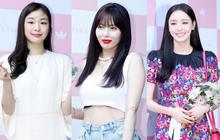 """Hyuna lộ áo ngực phản cảm, lấn át cả """"nữ hoàng trượt băng nghệ thuật"""" Kim Yuna nhờ... môi tều """"vượt mặt"""" ở sự kiện"""