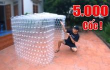 Dùng 5000 ống hút và cốc nhựa để làm video, YouTuber Top 3 Việt Nam lại vướng bão tranh cãi ầm ầm từ dư luận