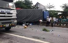Danh tính các nạn nhân tử vong vụ xe tải lật đè vào người đứng xem tai nạn giao thông ở Hải Dương