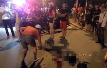 Tông xe máy vào gốc cây trên vỉa hè Hà Nội, nam thanh niên tử vong, cô gái trẻ nguy kịch