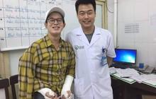 Bị ngã rạn xương cả hai tay, Quang Anh (Về nhà đi con) vẫn cố chịu đau bay 2 tiếng từ Sài Gòn về Hà Nội chữa trị