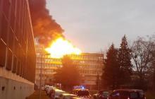 Cháy lớn tại ký túc xá trường đại học ở Lyon, Pháp
