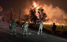 Gần 100 người thương vong trong vụ nổ đường ống dẫn nhiên liệu tại Mexico