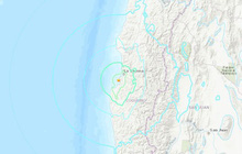 Động đất mạnh 6,7 độ làm rung chuyển thành phố cảng Coquimbo, Chile