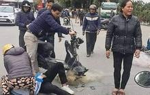 Học sinh ngã lăn quay nghi bị quăng lưới: CSGT Thanh Hóa nói gì?