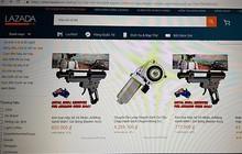 Các shop trên Lazada ngang nhiên kinh doanh súng bắn bi sắt gây sát thương, vi phạm pháp luật