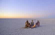 """Choáng với sự sống đẹp huy hoàng tại chảo muối được mệnh danh là """"Vùng đất chết"""""""