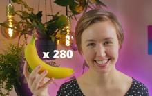 Được hỏi 'quả chuối có bao nhiêu mặt?', nhà khoa học mua một phát 280 quả để tìm câu trả lời