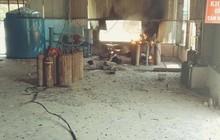 Nổ đường ống dẫn khí trong lúc sang chiết gas, 3 công nhân bị thương nặng