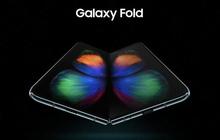 Galaxy Fold - smartphone màn hình gập của Samsung lộ hình ảnh đầu tiên