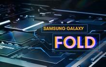 Không chỉ đột phá về thiết kế, Galaxy Fold còn là một quái vật về cấu hình