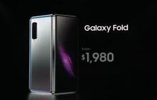 """Tại sao Galaxy Fold màn hình gập có giá chính xác 1980 USD, không tròn 2000 luôn cho """"oách""""?"""