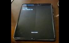 Xuất hiện video trên tay Samsung Galaxy Fold, nếp nhăn hằn rõ lên màn hình gập