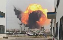 Hiện trường vụ nổ nhà máy hóa chất Trung Quốc, 47 người thiệt mạng