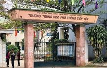 Ngay thời điểm kỳ thi THPT quốc gia cận kề, gần 600 học sinh trường THPT Tiên Yên đột nhiên đồng loạt nghỉ học