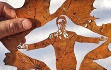 Lá rụng thường bị tống vào thùng rác, lá rụng ở Kazakhstan lại biến thành cả bầu trời nghệ thuật
