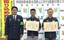 Nam du học sinh Việt Nam gây sốt truyền thông Nhật khi được Sở cảnh sát Tokyo tặng bằng khen vì hành động nhanh trí này