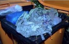 Bị nhân viên hỏi túi rác có gì, người phụ nữ nói rằng xác động vật nhưng hóa ra là tội ác khiến ai cũng phẫn nộ