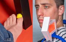 Từ xi-nhan cho người đi bộ đến nón bảo hộ ngón chân, 6 phát minh vô dụng này khiến đời vui hơn nhiều