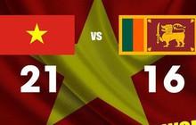FIBA 3x3 Asia Cup 2019: Việt Nam níu kéo hy vọng đi tiếp sau chiến thắng quan trọng trước Sri Lanka