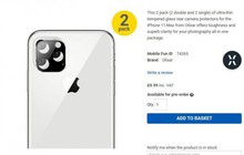 iPhone XI được xác nhận trông như thế này: Cụm camera sau hình vuông, vẫn có màn hình tai thỏ