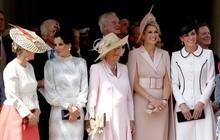 """Cuộc """"đọ sắc"""" có 1-0-2: Ba biểu tượng sắc đẹp của hoàng gia thế giới xuất hiện cùng nhau"""