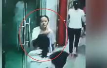Hình ảnh nữ sinh 13 tuổi dũng cảm ngược dòng người để sơ tán các bạn trong trận động đất ở Trung Quốc gây bão MXH