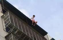 Nam thanh niên 19 tuổi ngồi thất thần trên nóc nhà 7 tầng chuẩn bị nhảy lầu tự tử và nguyên nhân đến từ chính bố mẹ