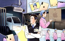 Các công nhân sản xuất của Apple đã làm rò rỉ thiết kế của những chiếc iPhone mới như thế nào?