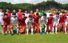 U18 Việt Nam chia điểm đội sinh viên Nhật Bản trong trận đấu tập đầu tiên