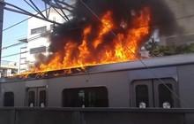 Nhật Bản lại xảy ra hỏa hoạn, hàng loạt tuyến đường sắt bị đình trệ