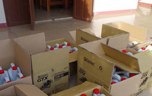 Bắt giữ gần 2.000 lít nhớt giả nhãn hiệu nổi tiếng Castrol
